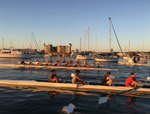 First Week of Rowing